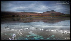 Embsay Res (eddie_fletch) Tags: uk england reflection ice water yorkshire north reservoir moor crag embsay moorside