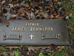 James Johnston (Gemma E. Petrie) Tags: family chicago graves southside kin mountgreenwood mtgreenwoodcemetery