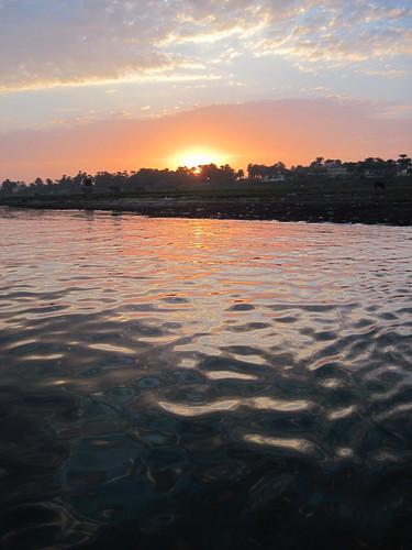 Sunset on Felucca Farce