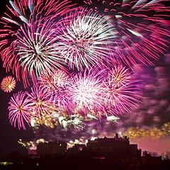 Edinburgh Hogmanay Fireworks 2
