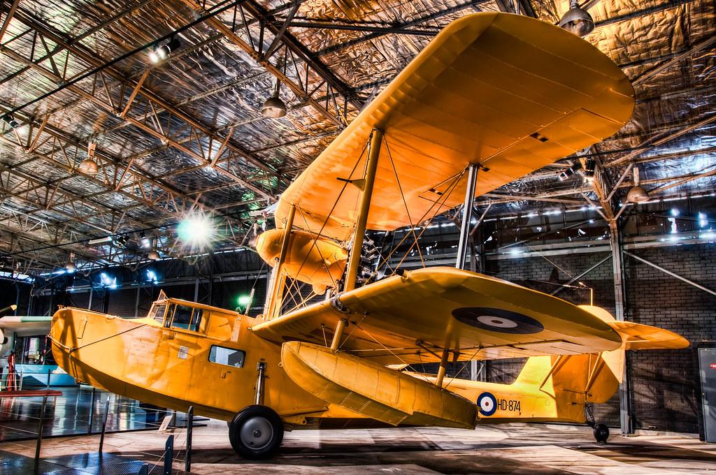 Big Yellow RAAF Plane