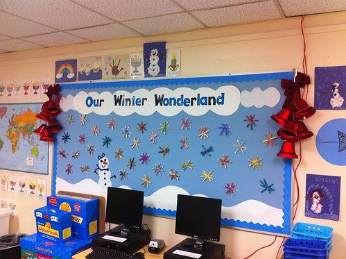 Our Winter Wonderland too