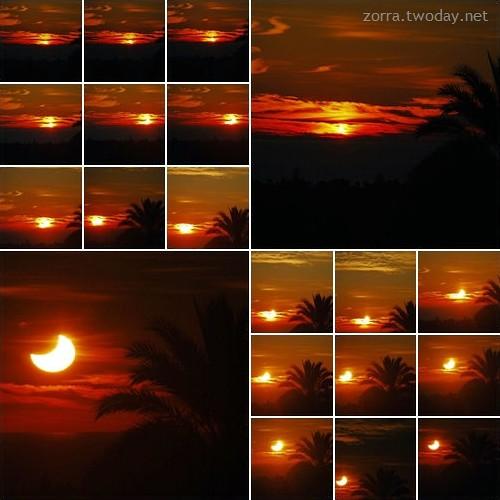 Partielle Sonnenfinsternis 2011