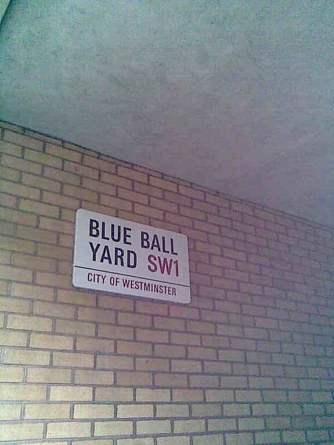 blue ball yard