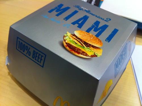 マクドナルドのBig America2 マイアミバーガーを先行で喰らう!