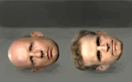 heads (mock up)