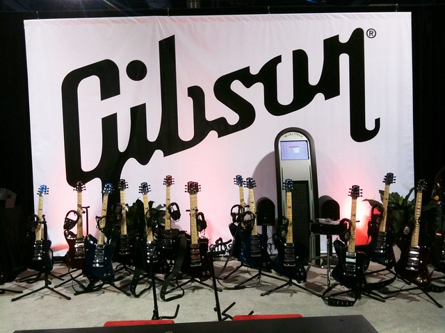 Gibson Firebird X Guitar at CES