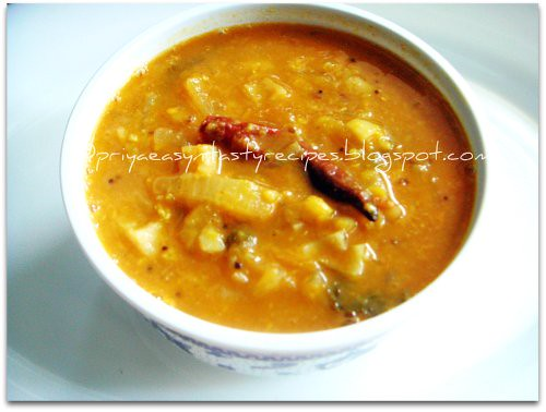 Lotus Root Sambhar