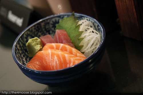 Dezato Desserts and Dining - Two Kinds of Sashimi