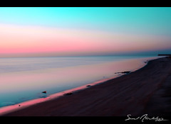 Khobar's Beach || B4 SunRise (سعود العقيل || saud alageel) Tags: canon explore 500 55 saud شاطئ 250mm الخبر explored عدسة كانون 55250 سعود دي 55250mm العقيل alageel