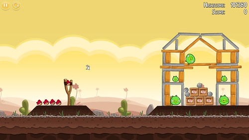 "Angry Birds 27"" iMac"