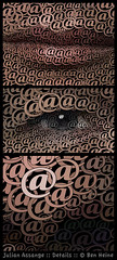 Julian Assange - Details (Ben Heine) Tags: wallpaper portrait usa inspiration news money detail colors face project computer typography hope justice democracy support media colorful symbol cia secret internet digitalart arts philosophy email sharp communication developer software scientology license hacker calligraphy freedomofexpression conceptual activism leak copyrights information economy making paranoia hacking pentagon journalism fbi neuroscience activist dissident dollars visage diplomacy publisher programmer workflow accusation criticism postprocessing fuite extradition atsign timeconsuming theartistery arobas digitaltechnology cyberactivism benheine wikileaks australy circlism julianassange benheinecom whistleblowerwebsite ssange