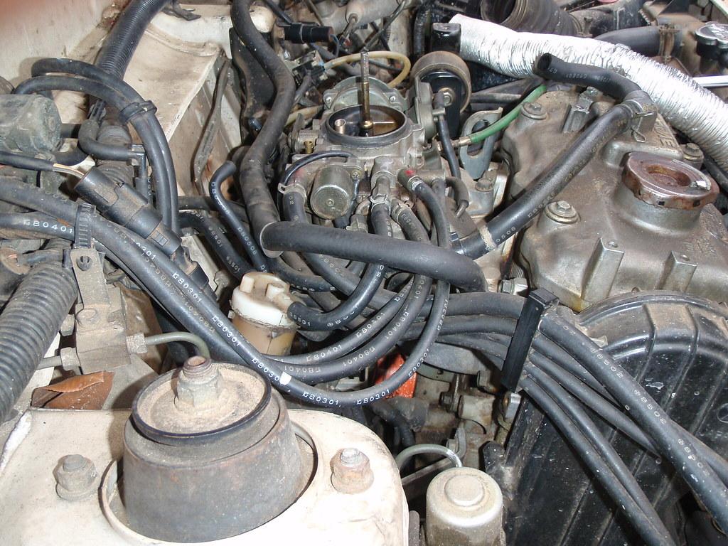 Weber Carburetor Swap W Pics Original Subaru Justy Forum Engines Boxer 4wd Diagram