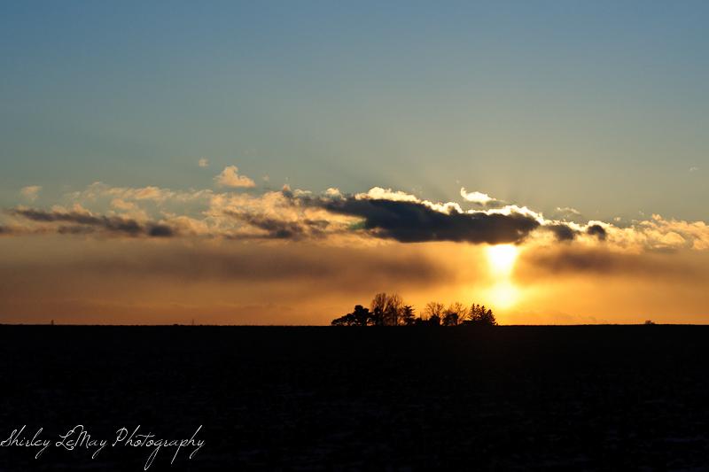 Sun Setting