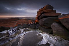 Morning at Shelter Rock (andy_AHG) Tags: winter rock rural landscape peakdistrict hills moors shelter pennines darkpeak moorland beautifulscenery hopevalley britishcountryside northernengland higgertor theedges outdoorpursuits hathersagemoor andyhemingwayportfolio