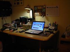 My desk (keiiun) Tags: desk workstation setup messydesk