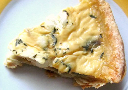 Roger Mooking's Goat Cheese Quiche