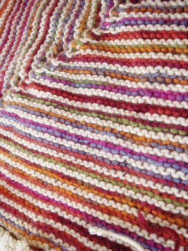 garter stitch rainbow