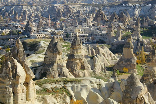 City of Goreme in Cappadocia
