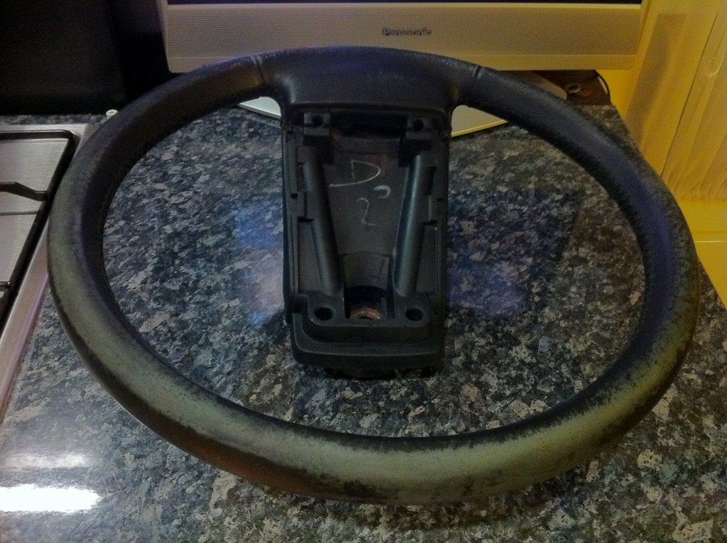 Steering Wheel Before