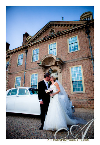crane-estate-castle-hill-wedding-inspiration-mm- bride and groom in limo at estate ipswich massachusetts