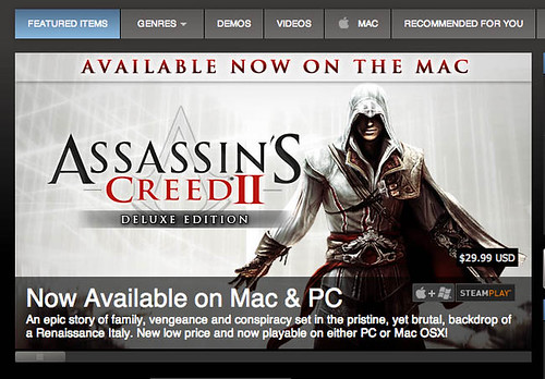 Assassin's Creed 2 for MAC on STEAM