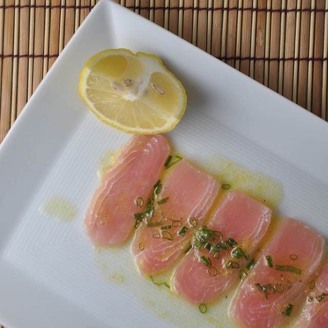 Opah two ways david tanis inspired crudo and seared fish for Opah fish recipes