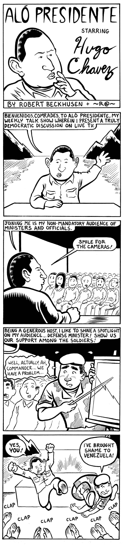 Hugo Chavez Comix #1