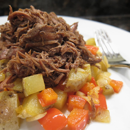 Shredded Beef Hash