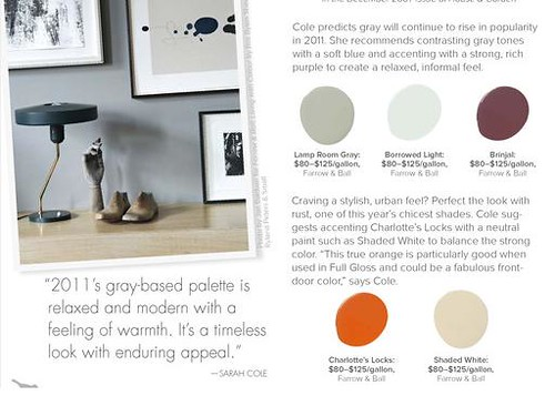 Farrow & Ball color combo Lonny