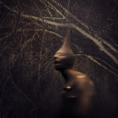 opening cocoons (brookeshaden) Tags: blur forest break inverted pantyhose cocoon brookeshaden texturebylesbrumes