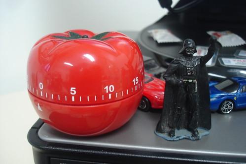 Timer de Cozinha em forma de Tomate. mlpiexoto/Flickr