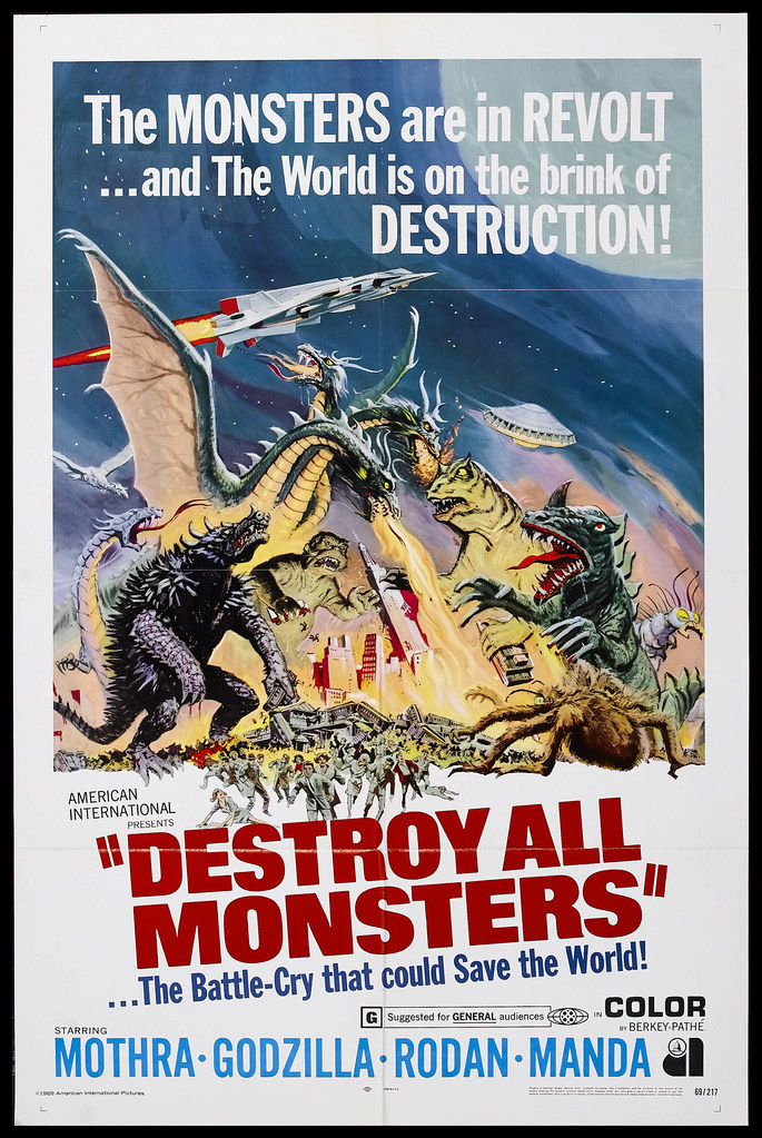 Destroy All Monsters (Toho, 1968) 2