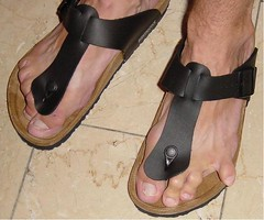 Thongsandals Birk (gunter1415) Tags: feet toes amputee zehen toeamputee ninetoed