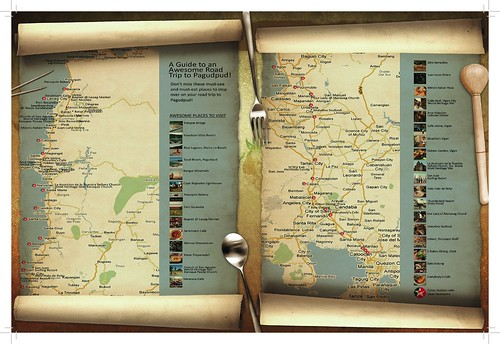 Road Trip Map to Pagudpud