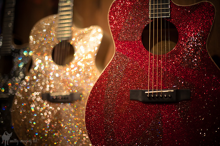 Bedazzled Guitars
