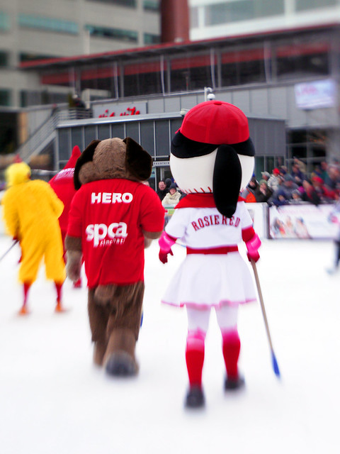 Mascot Broomball 2011