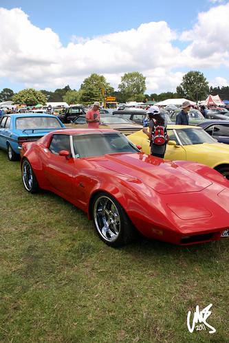 Corvette with Dish