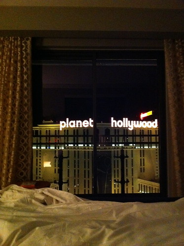 Planet Hollywood Marquee From Bed