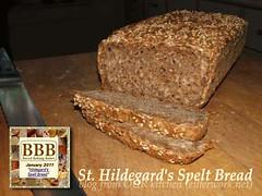 St. Hildegard's Spelt Bread (BBB)