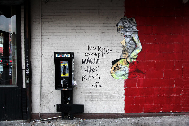 """No King..."" MLK Day 2011 in BKLYN"