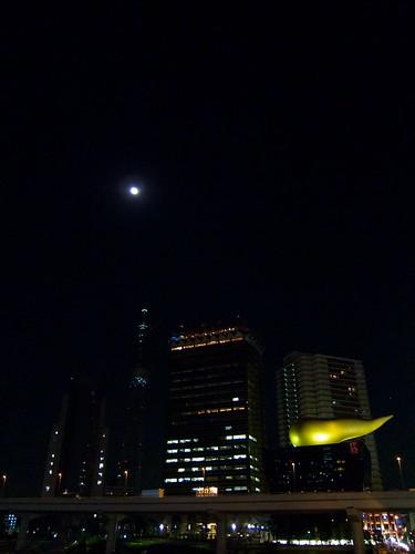 スカイツリーとお月さま