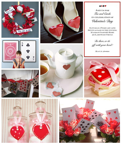 Queen of Hearts Tea Party