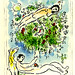 Chagall Adam & Eve