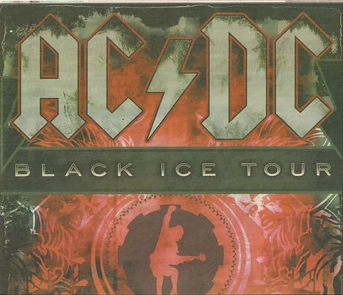 01/19/09 AC/DC @ St. Paul, MN (Ad - Top)
