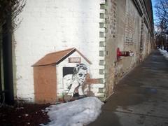 (Barrybu) Tags: street dog house chicago art mayor politics emanuel rahm
