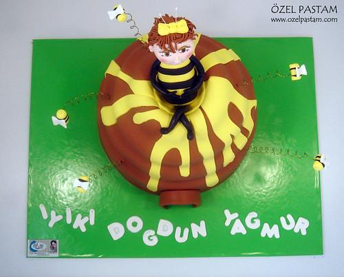 Yağmur'un Arı Kovanı Pastası / Beehive Cake