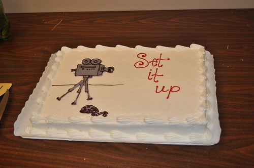 Set It Up Open House Cake