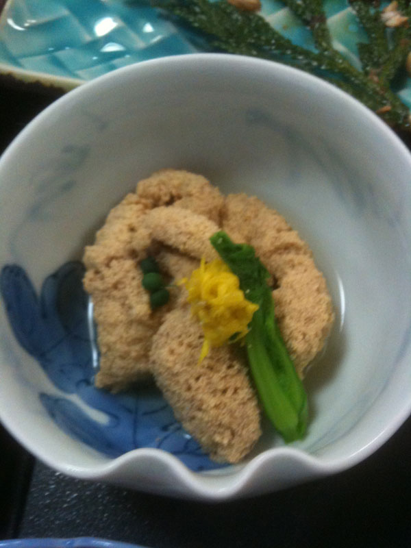 鱸(すずき)の卵