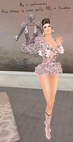 1a La Femme Fleur Vintage La vie en rose